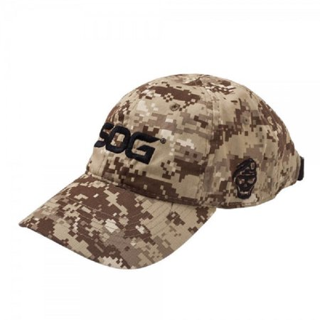 SOG Coyote Digital Camo Embroidered Cotton Ball Cap - Walmart.com 4101ffc0ac3