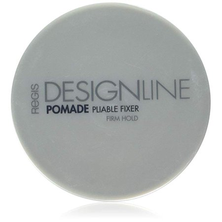 Pomade Pliable Fixer, 2 oz - DESIGNLINE - Medium Hold Styling Aid for Providing Definition, Shine, and (Best Medium Hold Pomade)