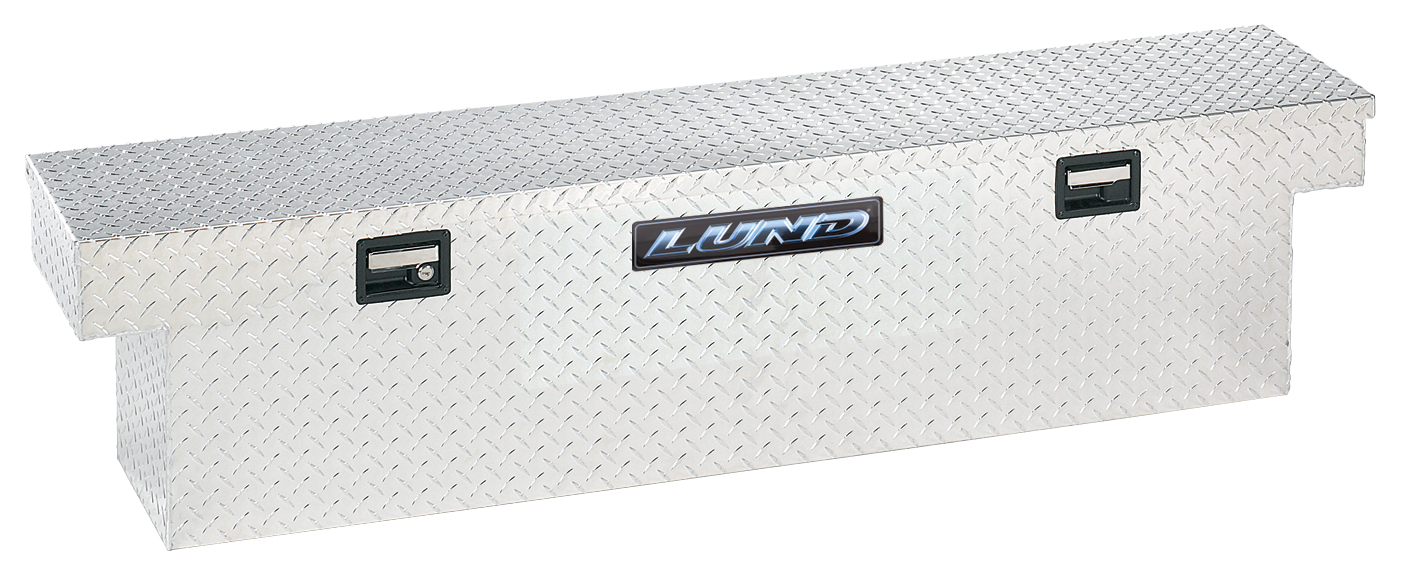 Lund 5140 30-Inch Aluminum Handheld Tool Box Silver Diamond Plated