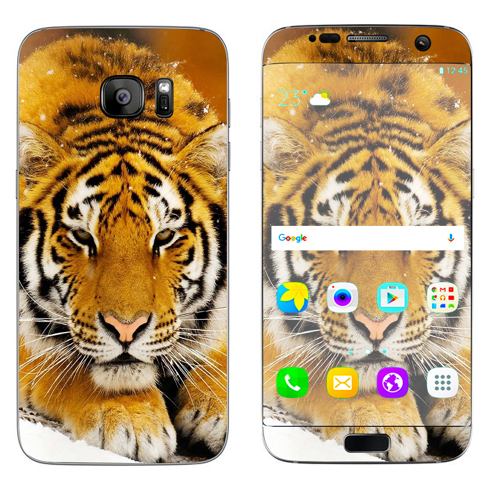 Skins Decals For Samsung Galaxy S7 Edge / Siberian Tiger
