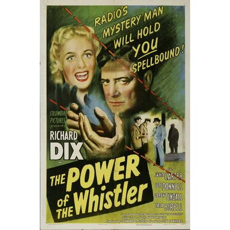 The Power of the Whistler POSTER Movie Mini Promo - Glc Whistler Halloween