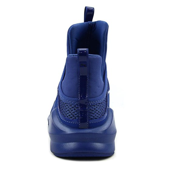 4c4b85f6df3 PUMA - Puma Women s Fierce Knit True Blue Ankle-High Fashion Sneaker - 7.5M  - Walmart.com