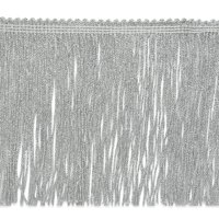 "Expo Int'l 2 yards of 6"" Metallic Chainette Fringe Trim"