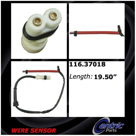 OE Replacement for 1997-2012 Porsche Boxster Rear Disc Brake Pad Wear Sensor (Base / Limited Edition / RS 60 Spyder / Roadster / Roadster S / S / S Black