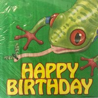 Fun Frogs Lunch Napkins (18ct)