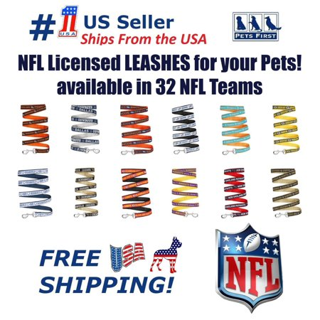 Pets First NFL Green Bay Packers Heavy Duty and Durable Dogs and Cats Sports Leash - Medium