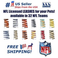 Pets First NFL Arizona Cardinals Heavy Duty and Durable Dogs and Cats Sports Leash - Large