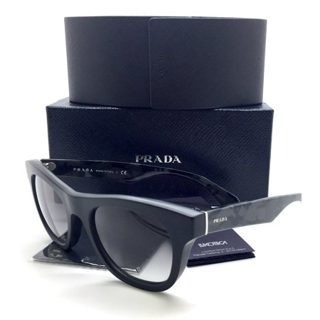 d741a0d4c97 Prada New Authentic Gray Black Camouflage Men Sunglasses SPR 04Q 1BO 0A7 52  21 145
