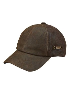 9ef8cedb Product Image stetson men's weathered leather ball cap brown os