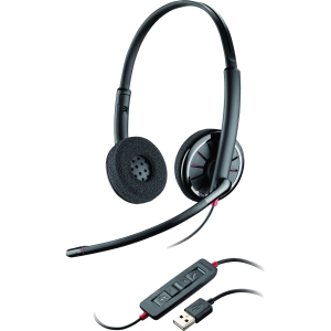 Plantronics Blackwire C320-M Headset - Noise Cancelling - Binaural