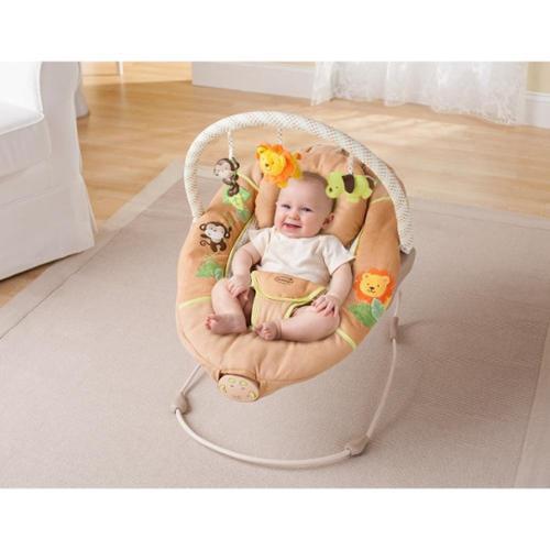 Summer Infant Swingin' Safari Sweet Comfort Musical Bouncer