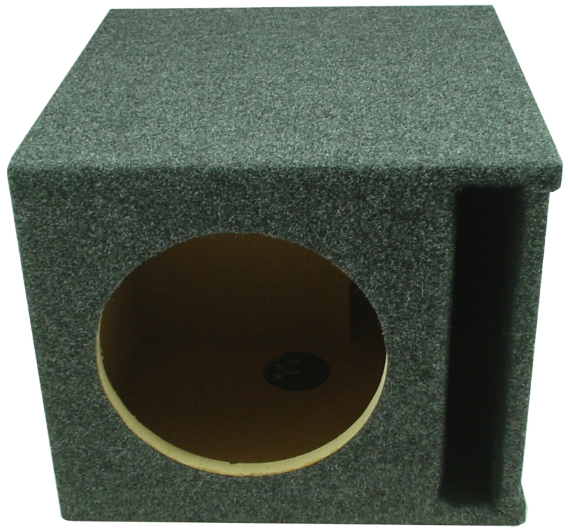 Car Audio Single 9 Slot Ported Subwoofer Labyrinth Stereo Bass Speaker Sub  Box - Walmart.com
