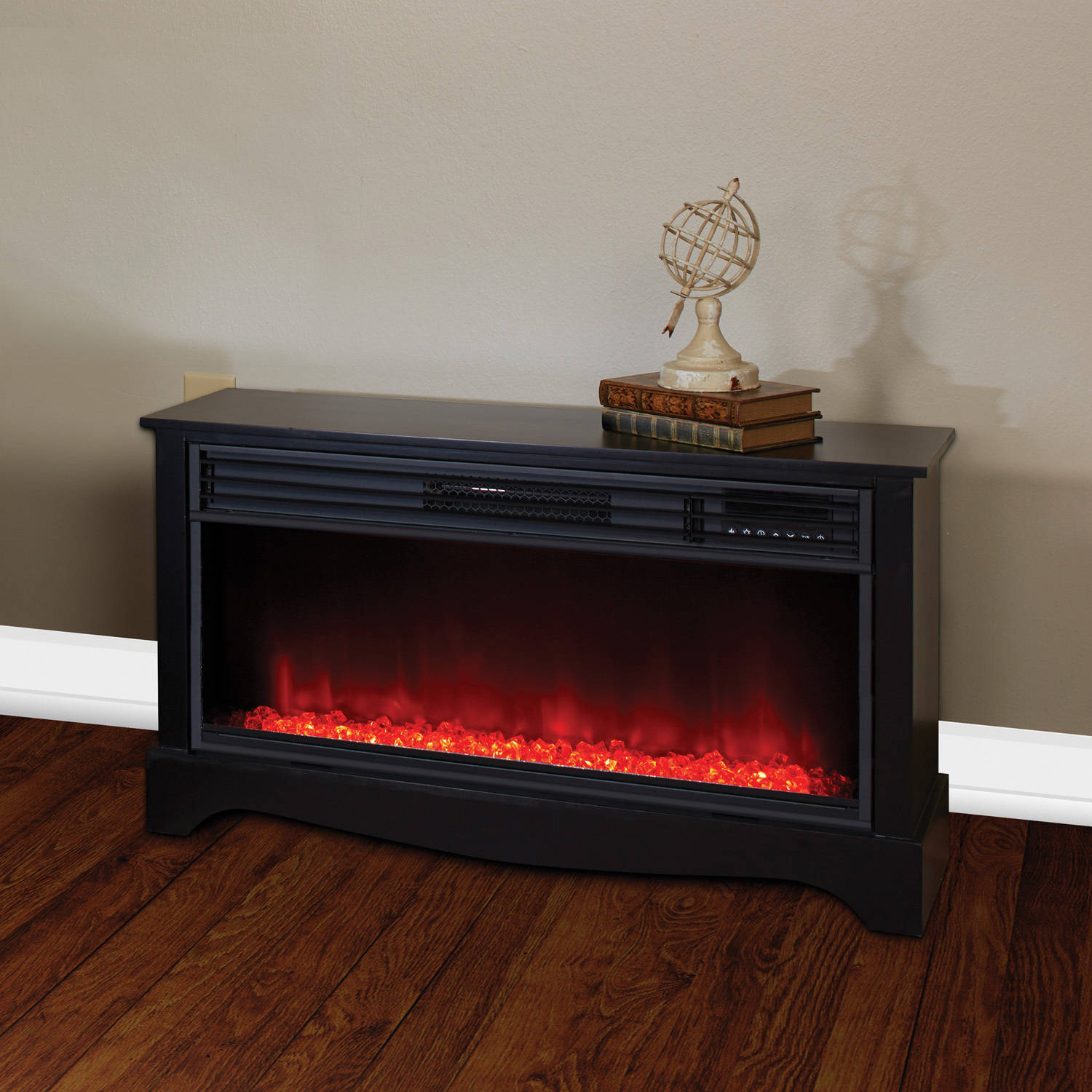 Lifesource 20 Tall Heater Fireplace with Color Change LED Affect