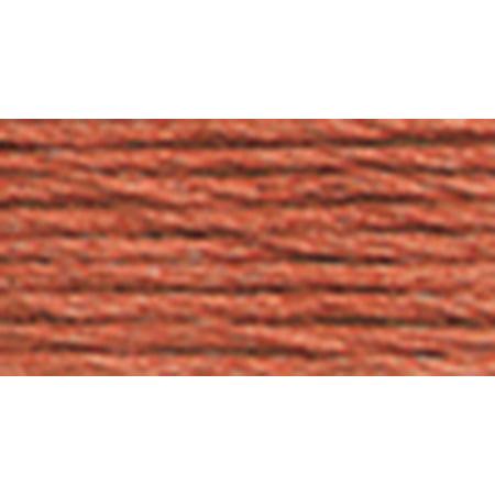 DMC Pearl Cotton Skein Size 3 16.4yd-Medium Terra Cotta - image 1 of 1