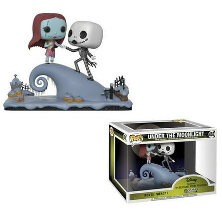 FUNKO MOVIE MOMENT: The Nightmare Before Christmas - Jack and Sally on - Jack Nightmare Before Christmas