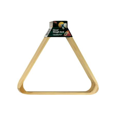 Viper Wood Triangle Ball Rack