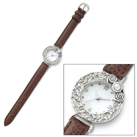 Women's Chocolate & Vanilla Watch