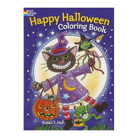 Happy Halloween Coloring Book - Middle School Halloween Coloring Pages