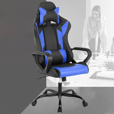 Computer Gaming Racing Chair Coavas Office High Back Pu Leather