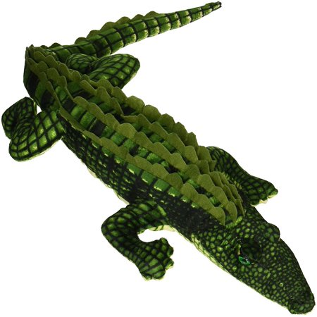 Fiesta Toys Alligator Green Gator 27'' Inches My Sealife Stuffed Plush Animal Pet](Fiesta Stuffed Animals)