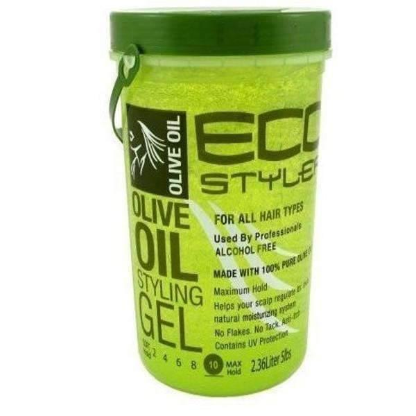 Eco Style de l'huile d'olive Gel coiffant 5lb - 5 lbs - image 1 de 1