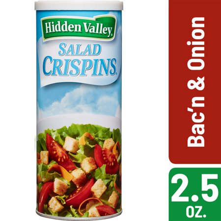 Red Onion Salad - (2 Pack) Hidden Valley Bac'n and Onion Salad Crispins - 2.5 oz