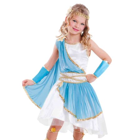Girls Greek Goddess Halloween Costume Aphrodite Toga Outfit (This Week In Geek Halloween)
