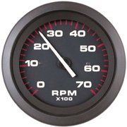 SeaStar Solutions Amega Electric Tachometer for Diesel Alternator