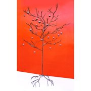 Large Bronze Metal Candle Tree - 10H ft.
