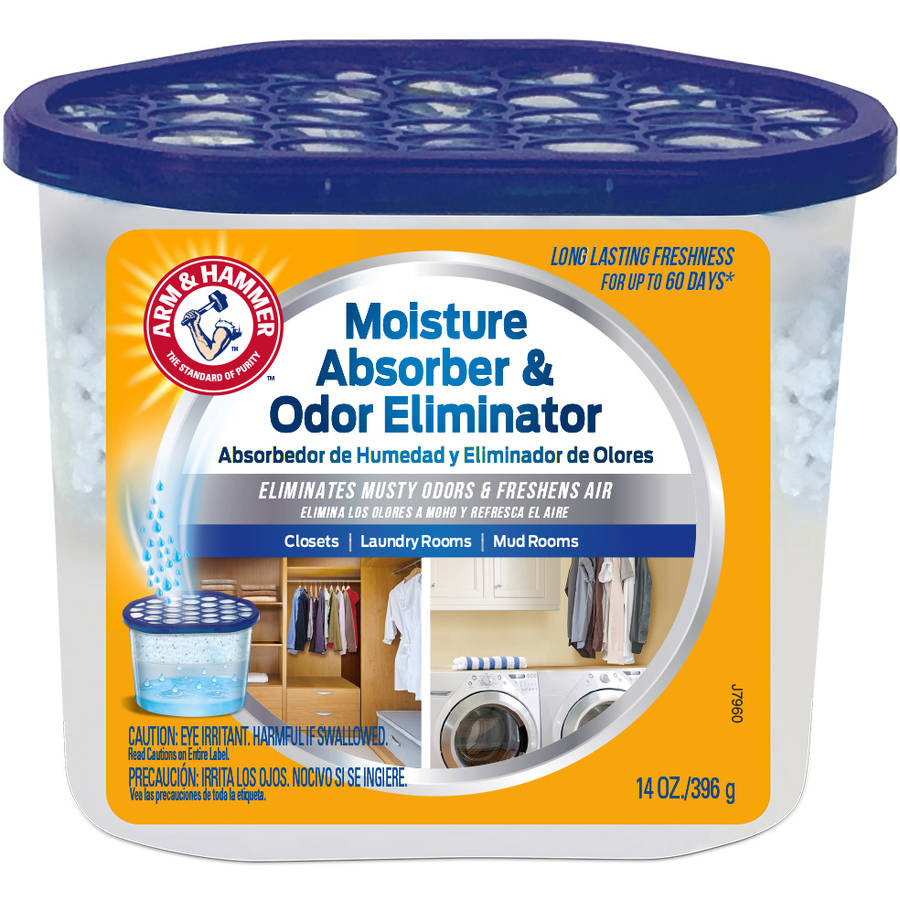 Arm and Hammer Moisture Absorber and Odor Eliminator, 14 oz Tub