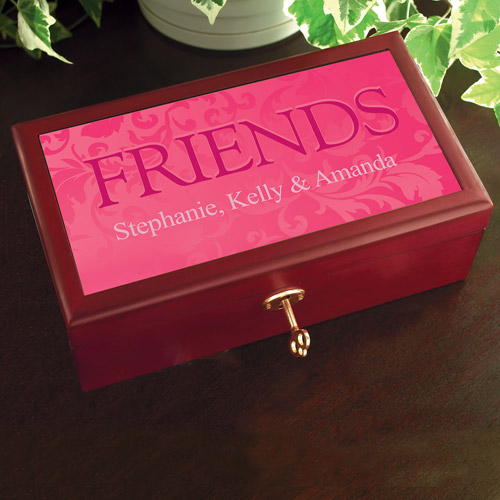 Personalized Friends Keepsake Box