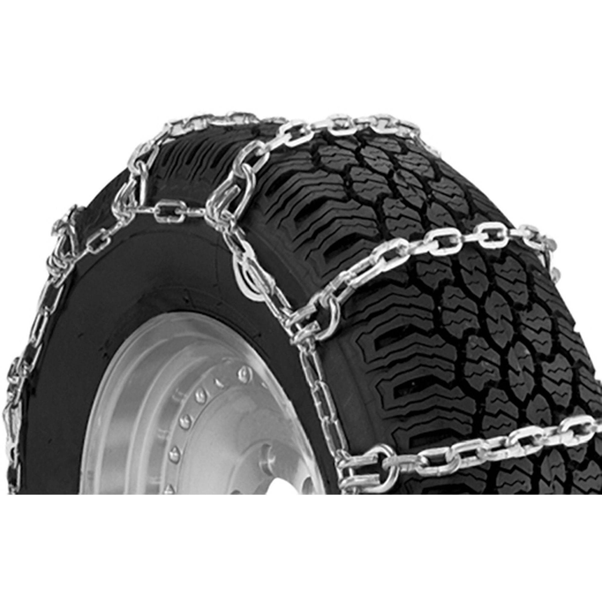 Square Link Alloy Truck Chains with Camlock