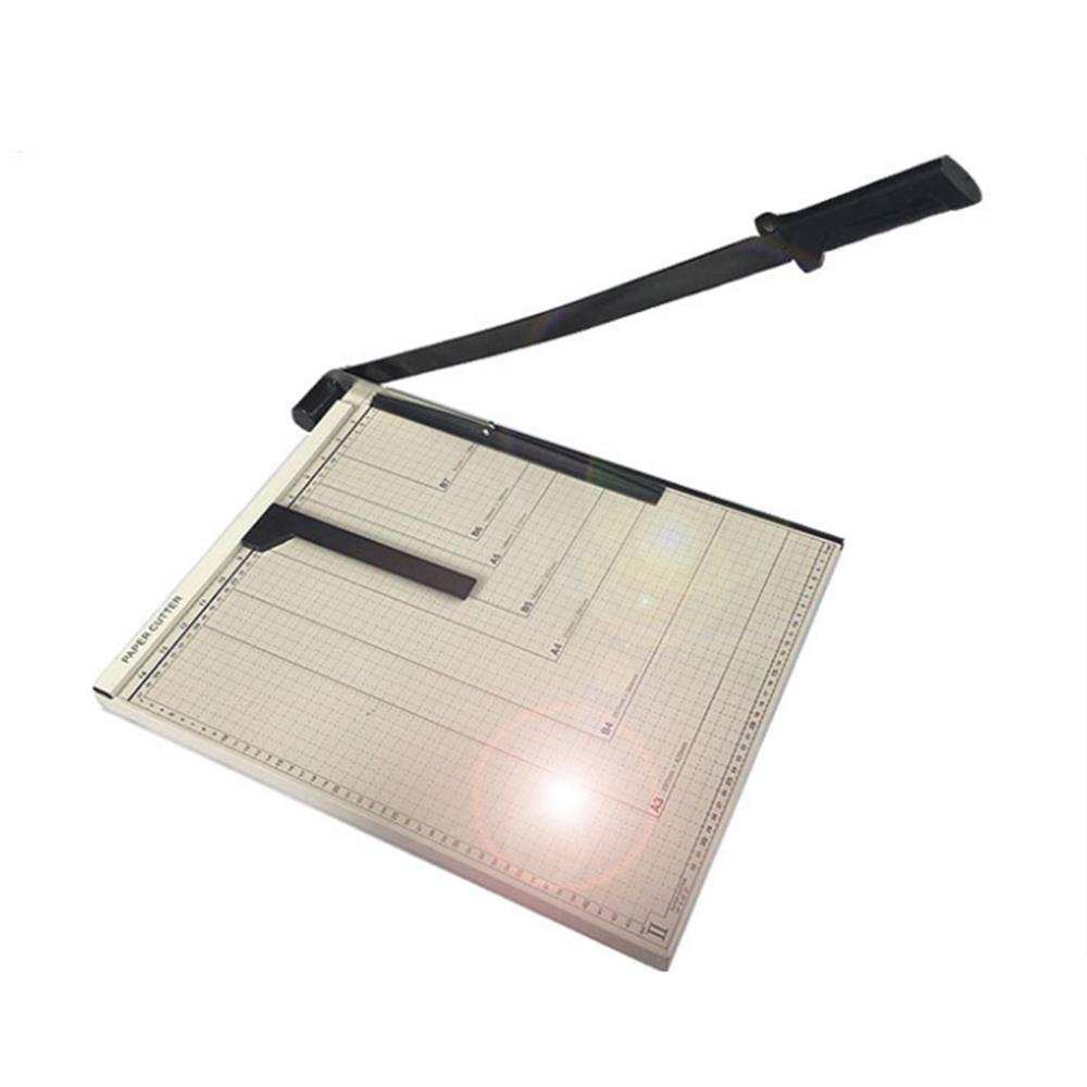Ktaxon A3 Paper Cutter, Heavy Duty Paper Trimmer Photo Guillotine Cutting Machine with Heavy Duty Gridded... by