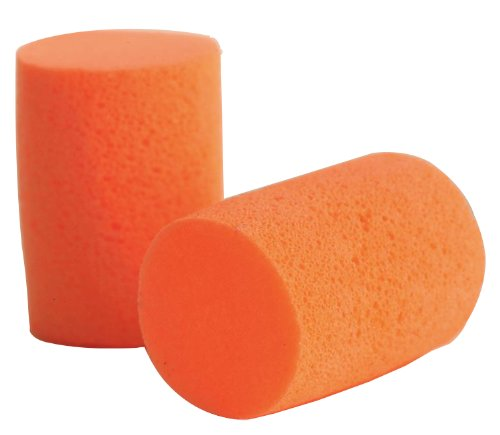 9290 Therma-Soft30 PVC Foam Earplugs, NRR=30, Orange (Pack of 200), By Tasco by