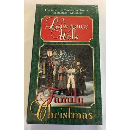 A Lawrence Welk Family Christmas VHS Xmas Holiday Music Movie Video-RARE VINTAGE ()