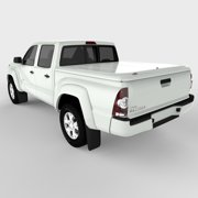 Undercover UC4056L-040 05-15 Tacoma 5' with Trac LUX Tonneau Cover, Super White