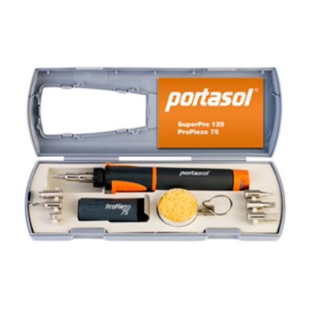 portasol 010580430 super pro 125 gas soldering torch kit. Black Bedroom Furniture Sets. Home Design Ideas