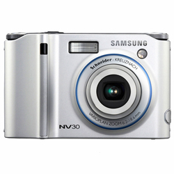 Samsung NV30 8.1 Megapixels Cyber-shot  Digital Camera 3X...