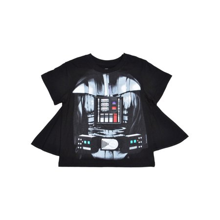 Boys Star Wars Darth Vader Costume T-Shirt with Cape](Childrens Star Wars Clothing)