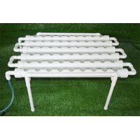 Intbuying Hydroponic Site Grow Kit 54 Holes Garden Plant System #141118