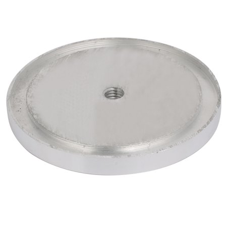 4pcs 95mm Dia 10mm Thickness M10 Thread Hollow Aluminum Disc Polished Finish - image 2 of 3