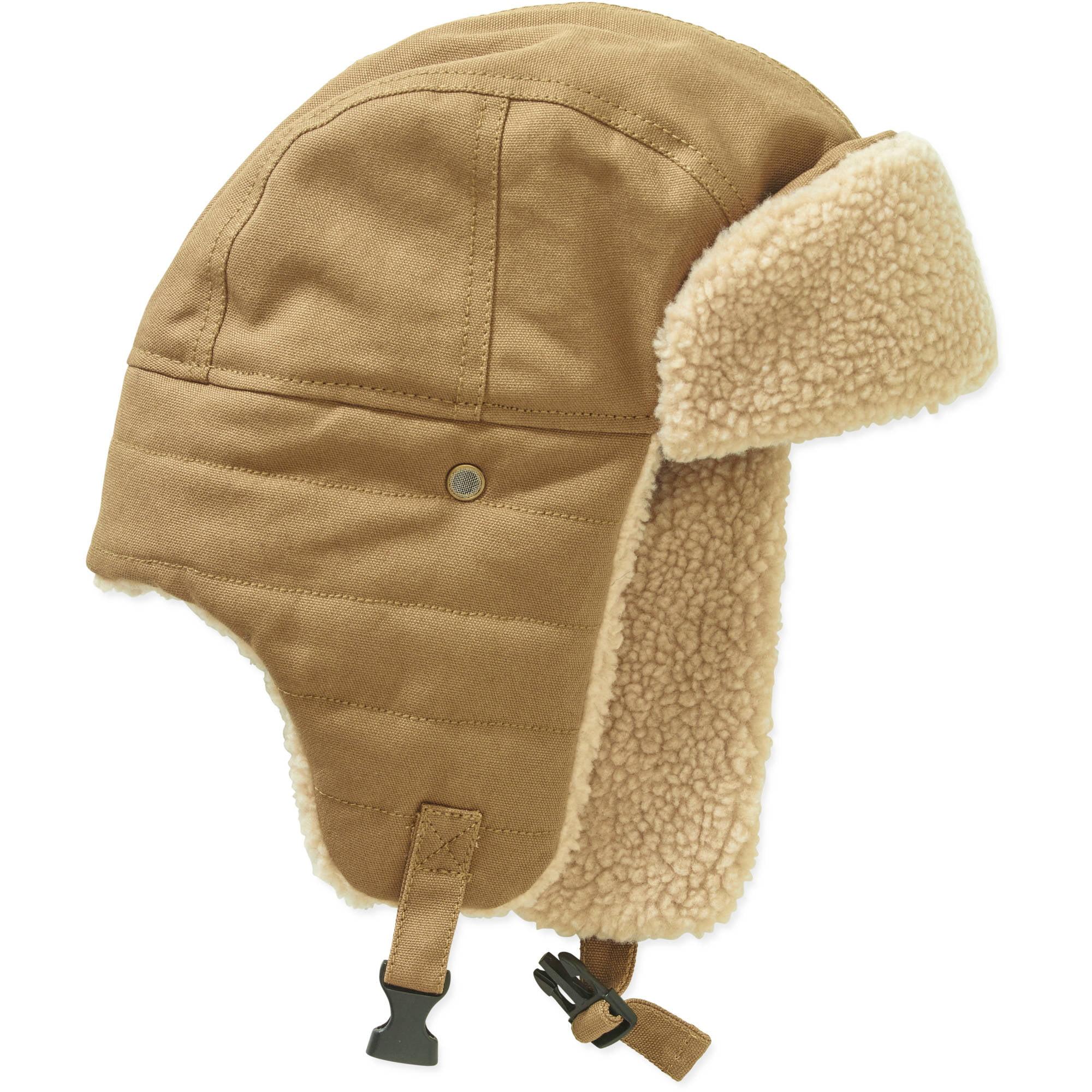 Men s Canvas Trapper Hat - Walmart.com dde3775fe4c