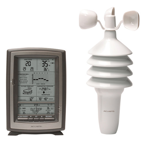 AcuRite 8 Digital Weather Station Forecaster 00639 Walmartcom
