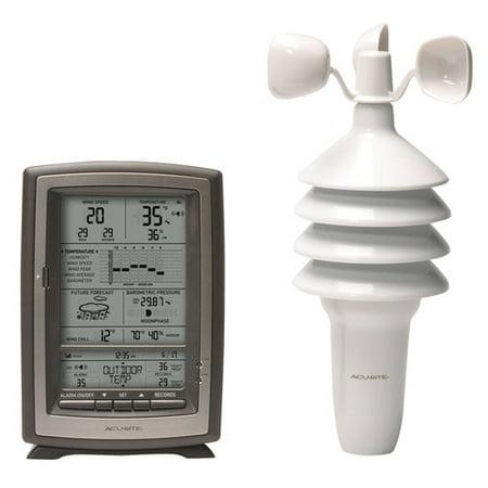 "Image of AcuRite 8"" Digital Weather Station Forecaster 00639"
