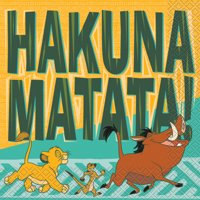 Lion King Paper Luncheon Napkins, 6.5in, 32ct