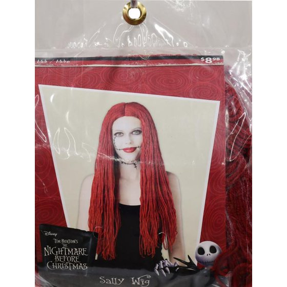 the nightmare before christmas sally wig walmartcom - Sally Nightmare Before Christmas Wig