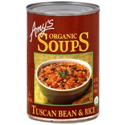 Amy's Tuscan Bean & Rice Soup, 14.1 oz (Pack of 12)