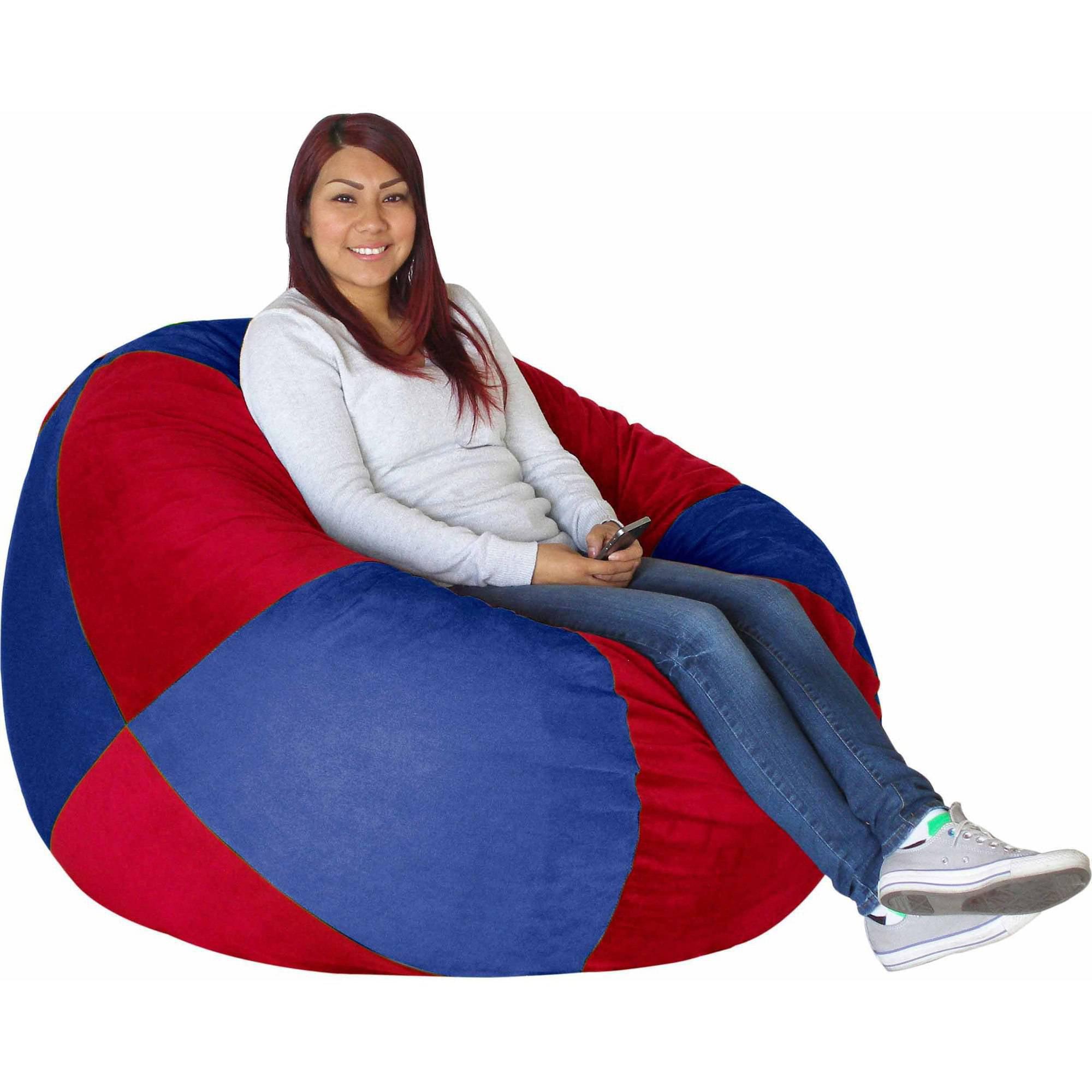 sc 1 st  Walmart & Big Tree Furniture Koala Foam Bean Bag Chair - Walmart.com