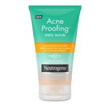 Facial Cleanser: Neutrogena Acne Proofing Daily Scrub