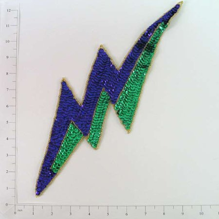 Pink And Blue Mardi Gras Beads (Expo Int'l Mardi Gras Lightning Bolt)